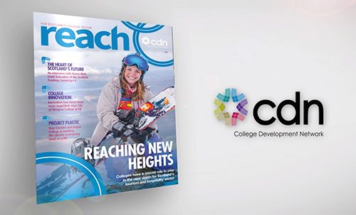 The new look reach magazine for CDN