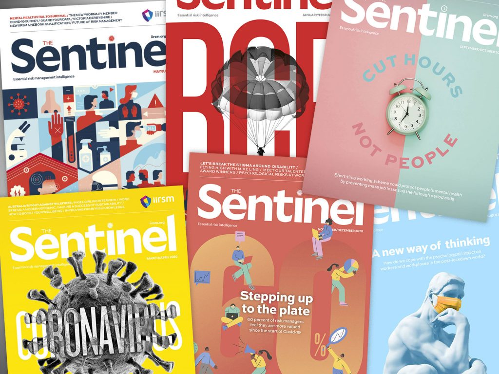 Sentinel magazine's bold new covers